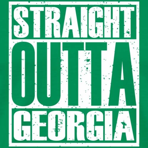 Straight Outta Georgia - Men's Premium T-Shirt