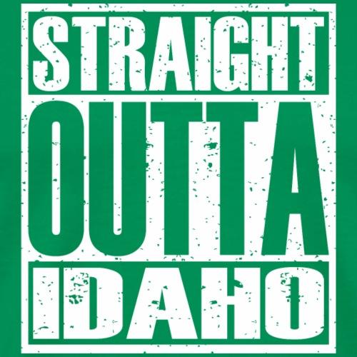 Straight Outta Idaho - Men's Premium T-Shirt