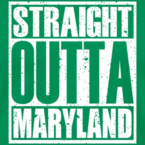 Straight Outta Maryland - Men's Premium T-Shirt