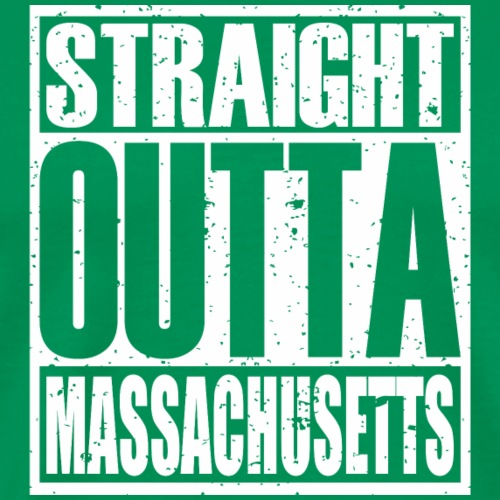 Straight Outta Massachusetts - Men's Premium T-Shirt