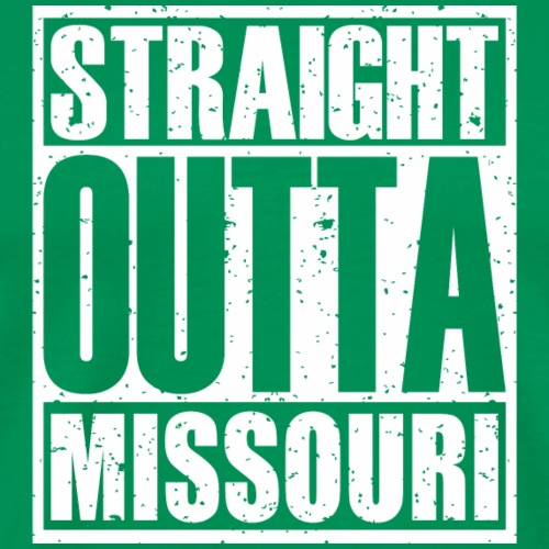 Straight Outta Missouri - Men's Premium T-Shirt
