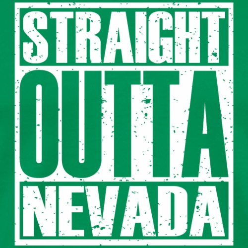 Straight Outta Nevada - Men's Premium T-Shirt