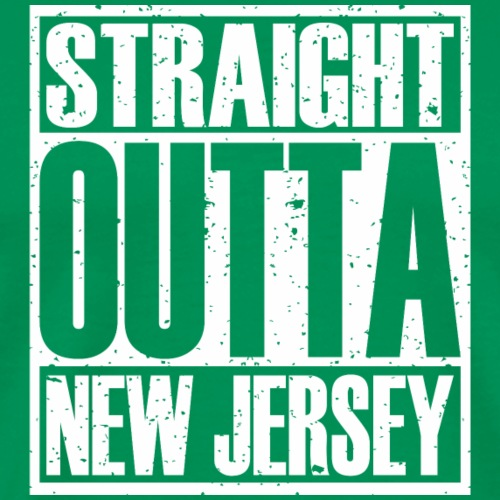 Straight Outta New Jersey - Men's Premium T-Shirt