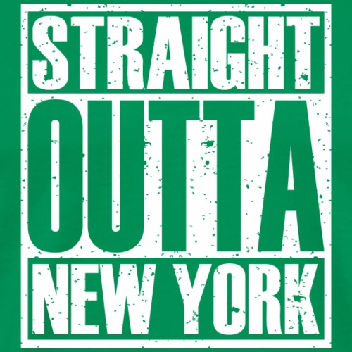 Straight Outta New York - Men's Premium T-Shirt