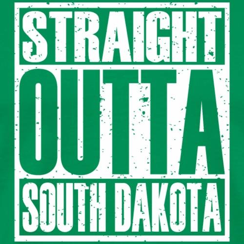 Straight Outta South Dakota - Men's Premium T-Shirt