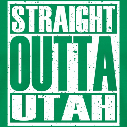 Straight Outta Utah - Men's Premium T-Shirt