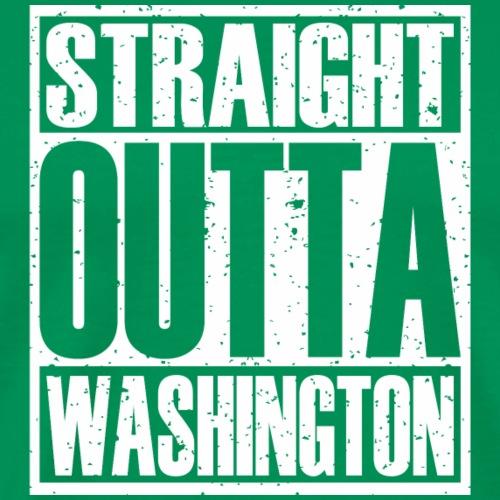 Straight Outta Washington - Men's Premium T-Shirt