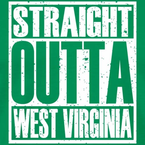 Straight Outta West Virginia - Men's Premium T-Shirt