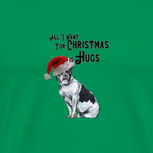 All I want for Christmas is Hugs. - Men's Premium T-Shirt