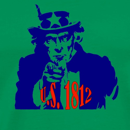 uncle-sam-1812 - Men's Premium T-Shirt