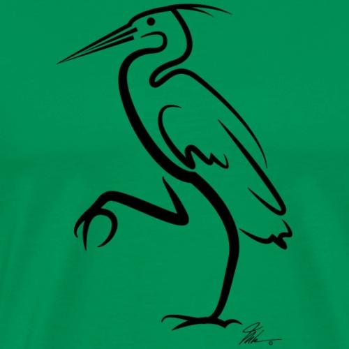 Crane - BLK - Men's Premium T-Shirt