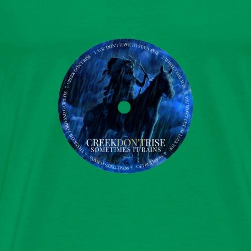 Sometimes It Rains CD Label - Men's Premium T-Shirt