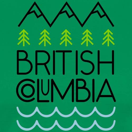 British Columbia! - Men's Premium T-Shirt
