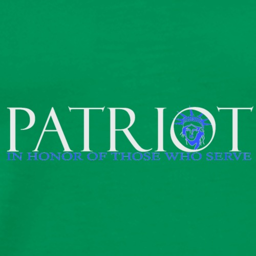 PATRIOT_USA_LOGO_2_reverse - Men's Premium T-Shirt