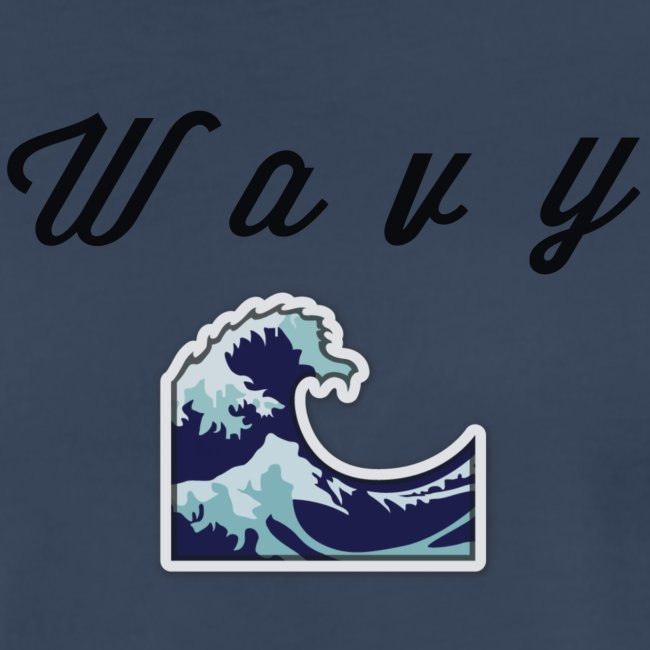 """""""Wavy"""" Abstract Design."""