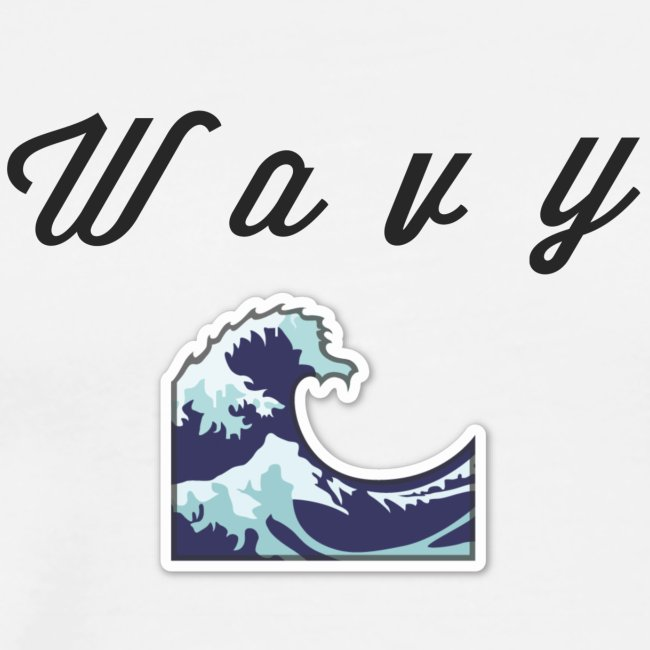 """Wavy"" Abstract Design."