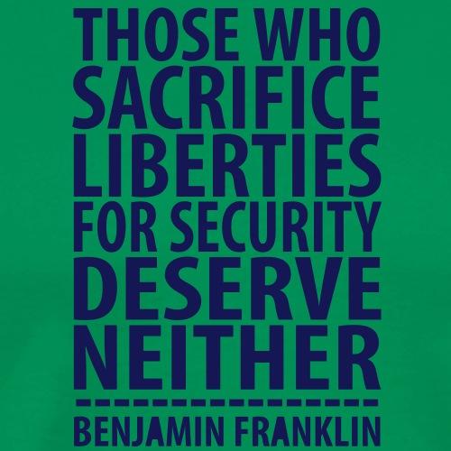 Liberties For Security - Men's Premium T-Shirt