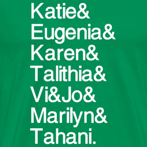 Math Gals 2019 w/ #MathGals hashtag - Men's Premium T-Shirt