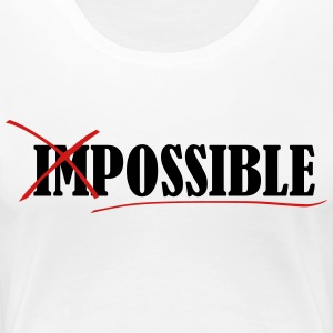 Im_possible - Women's Premium T-Shirt