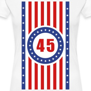 USA 45 Flag Vertical - Women's Premium T-Shirt