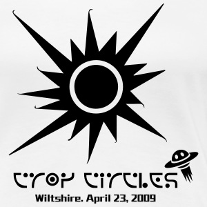 crop circles1 - Women's Premium T-Shirt