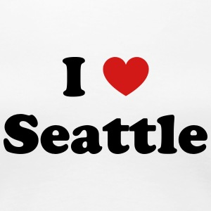 I love Seattle - Women's Premium T-Shirt
