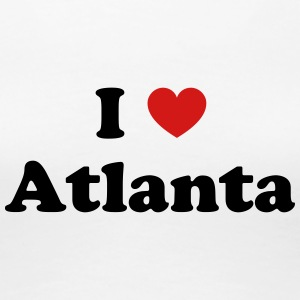 I love Atlanta - Women's Premium T-Shirt