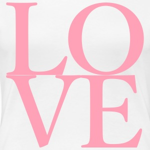 Love Square 1 - Women's Premium T-Shirt