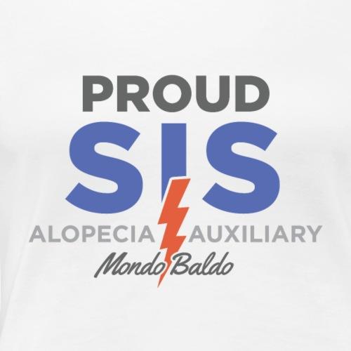Mondo Baldo Alopecia Auxiliary - For the Sister - Women's Premium T-Shirt