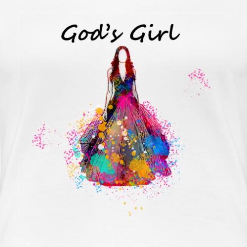 fshGodsGrl - Women's Premium T-Shirt