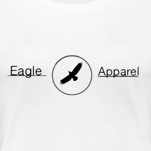 Eagle Apparel logo - Women's Premium T-Shirt