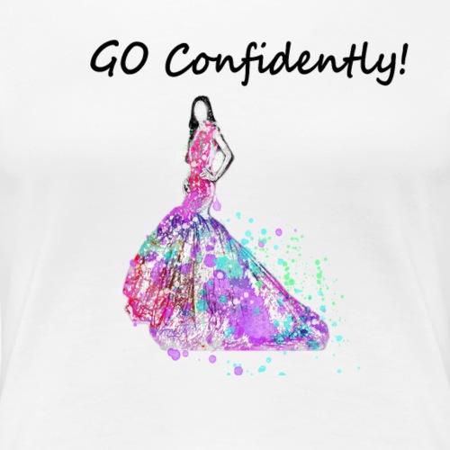 fshGoConf - Women's Premium T-Shirt