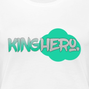 King Hero. Light Green (E&K) - Women's Premium T-Shirt