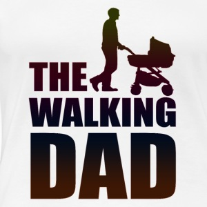 THE WALKING DAD - Women's Premium T-Shirt