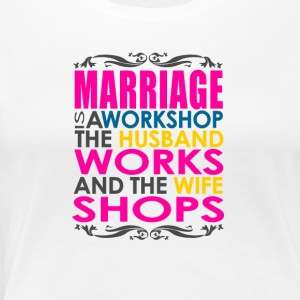 Marriage Joke - Women's Premium T-Shirt