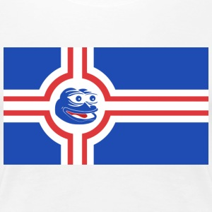 Icelandic Pepe the Frog - Women's Premium T-Shirt
