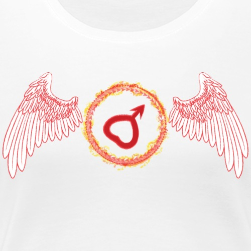 Sailor Mars - Women's Premium T-Shirt