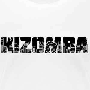 Kizomba city - Women's Premium T-Shirt