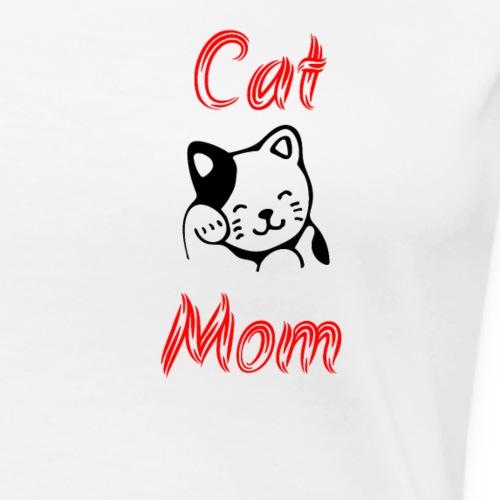 Cat Mom - Women's Premium T-Shirt