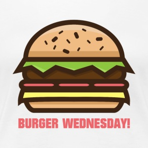 Burger Wednesday! - Women's Premium T-Shirt