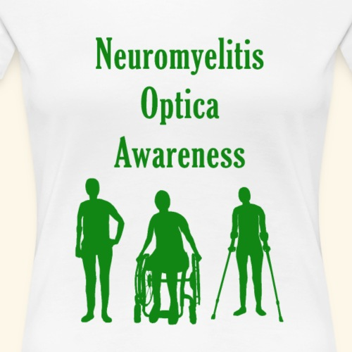 NMO Awareness - Green - Women's Premium T-Shirt
