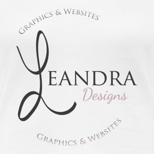Leandra Designs Logo - Women's Premium T-Shirt