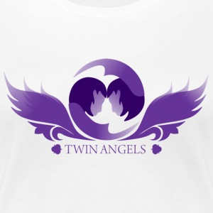 Twin Angels - Women's Premium T-Shirt