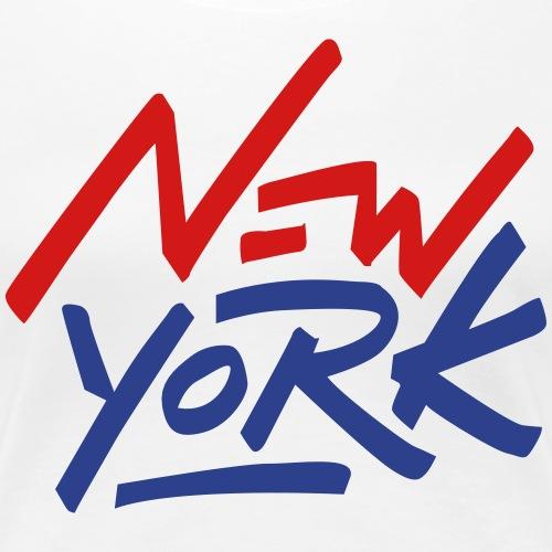 New York Colored - Women's Premium T-Shirt