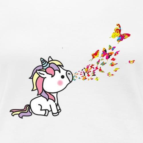 unicorn banksy - Women's Premium T-Shirt