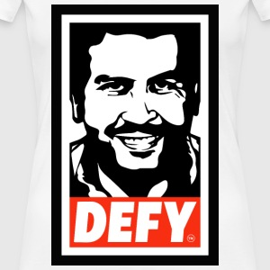 Pablo-Escobar-DEFY-Apparel - Women's Premium T-Shirt