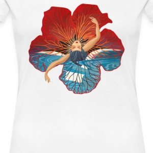 Hibiscus flower Hawaii - Women's Premium T-Shirt