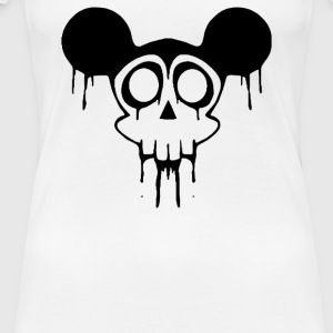 Dead Mickey Mouse Halloween - Women's Premium T-Shirt