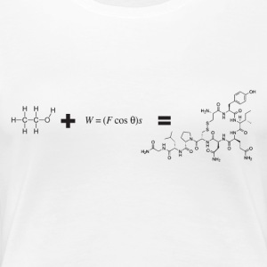 scientist's love note - Women's Premium T-Shirt