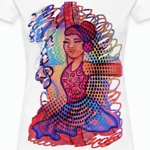 Dancin' Ari - Women's Premium T-Shirt
